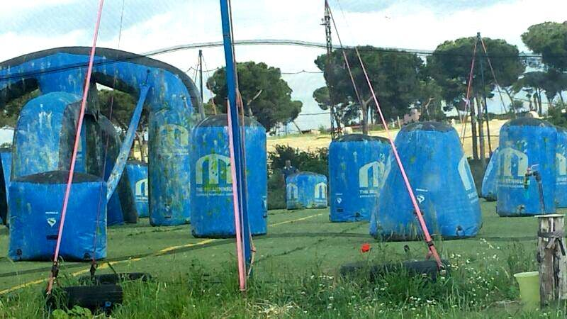 Parque de atracciones en Paintbreak Paintball Club