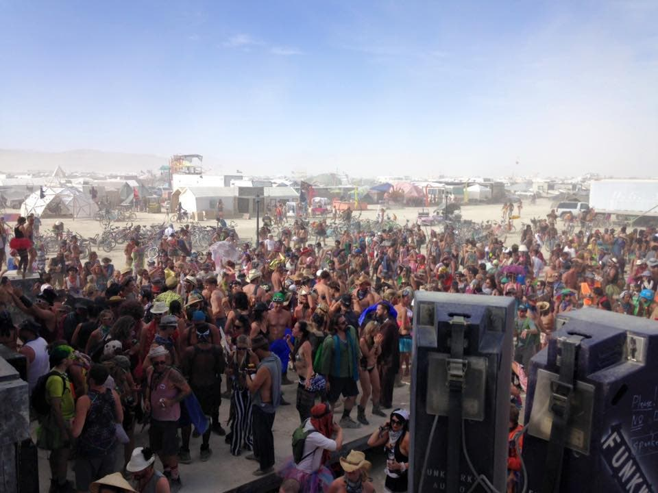 Personas en Burning Man