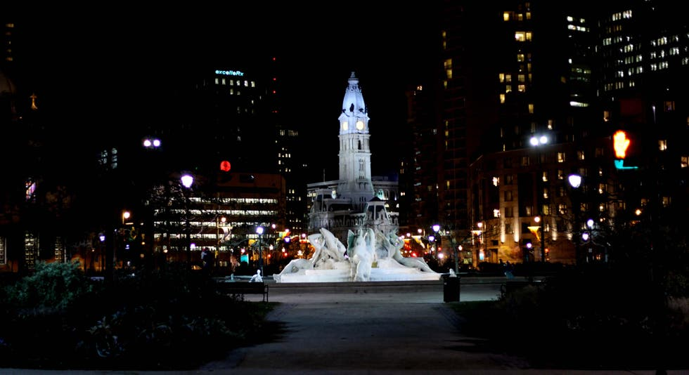 Night in Philadelphia
