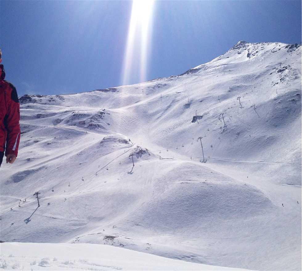 Pista en Estación de esquí de Piau Engaly