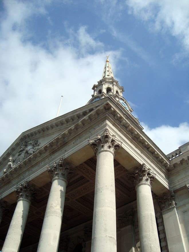 Cielo en St Martin-in-the-Fields