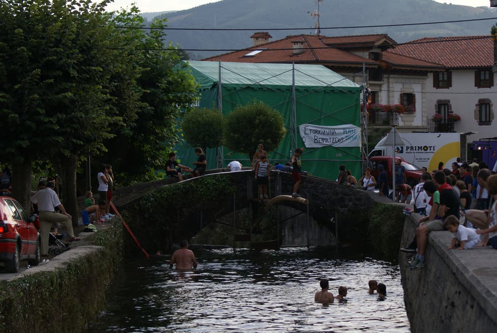 Waterway in Vera de Bidasoa