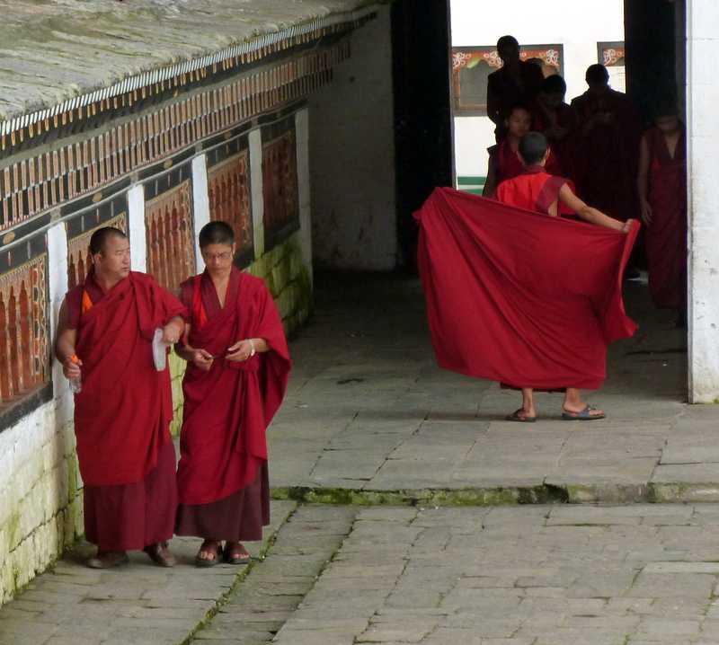 Rojo en Thimphu