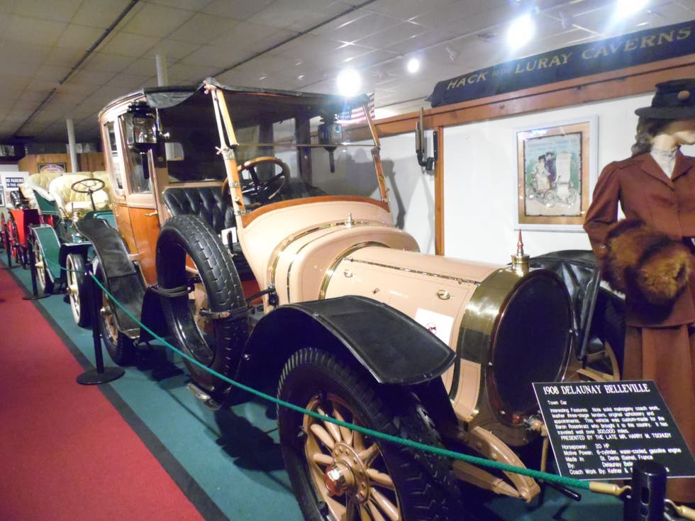 Vehículo en The Car and Carriage Caravan Museum