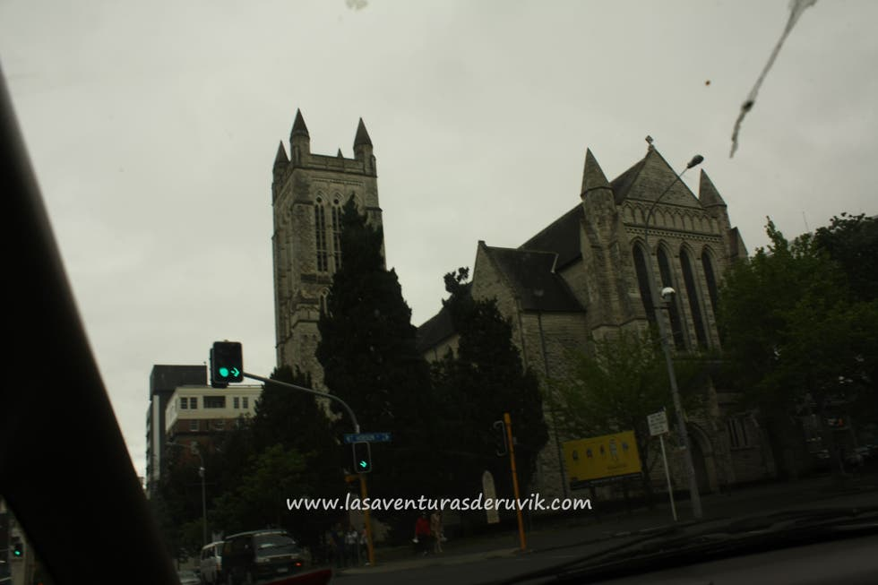 Edificio en Universidad de Auckland