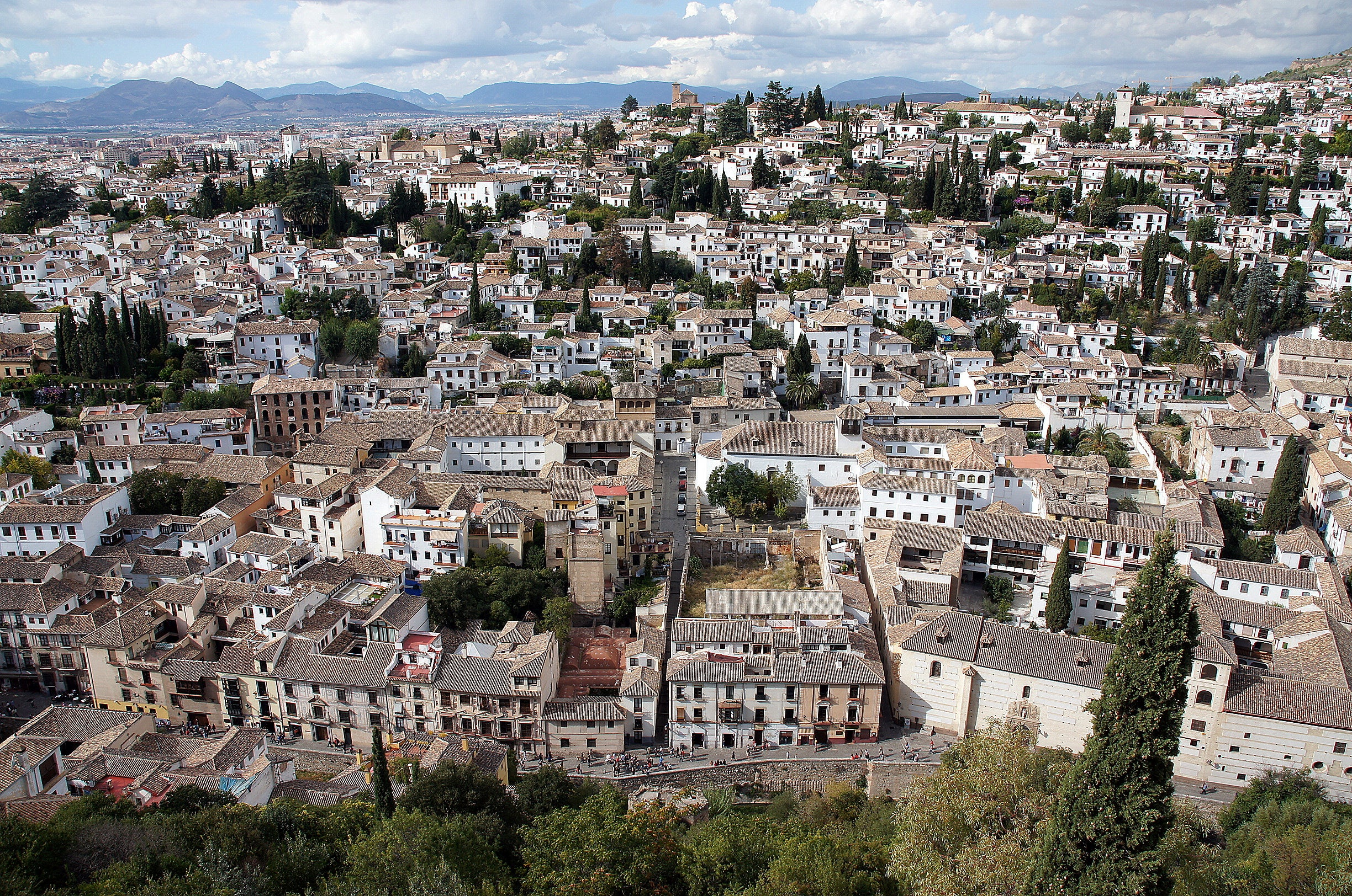 Photos of views from the alhambra images - Abella granada ...
