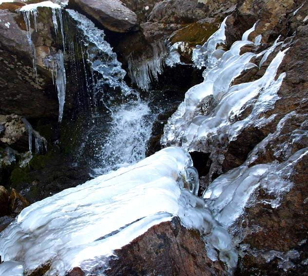 Agua en Lago de los Barrancos (Parque Natural Posets-Maladeta)