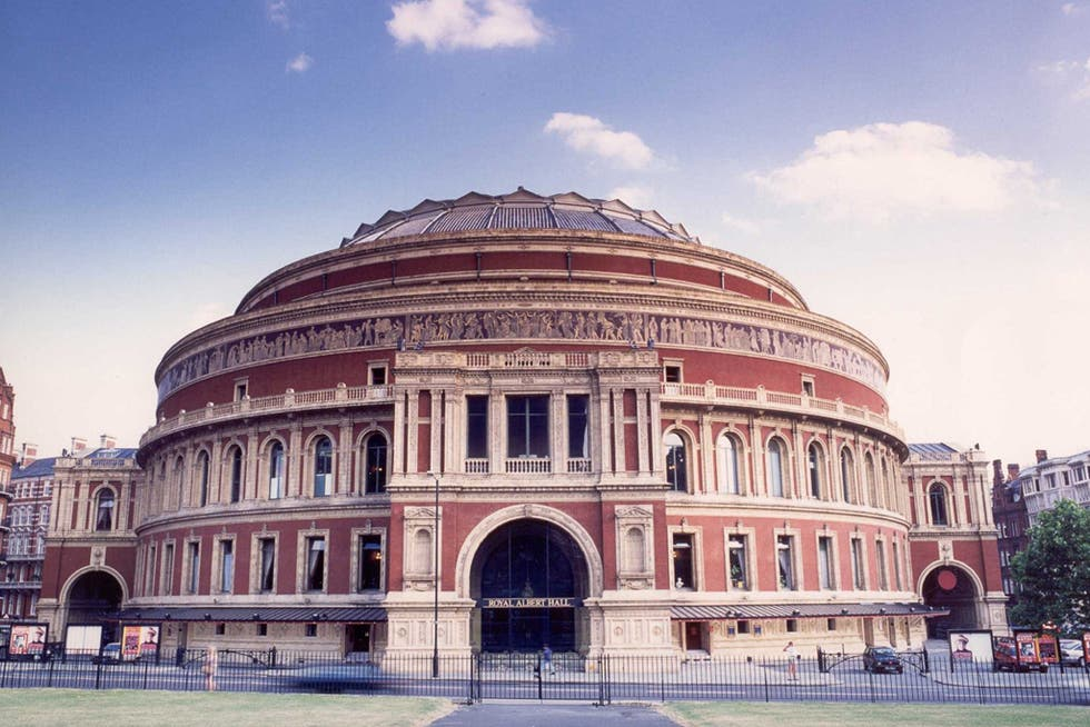 Arquitectura en Royal Albert Hall