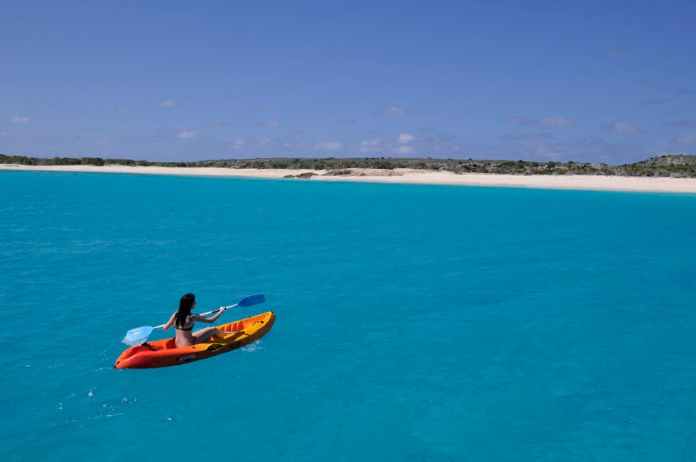 Kayaking in Anguilla