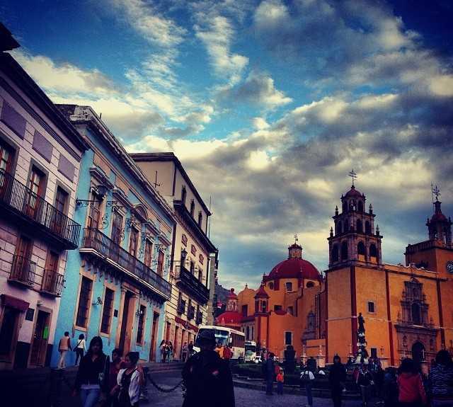 Rojo en Catedral Basílica Coliagata de Ntra. Sra. de Guanajuato