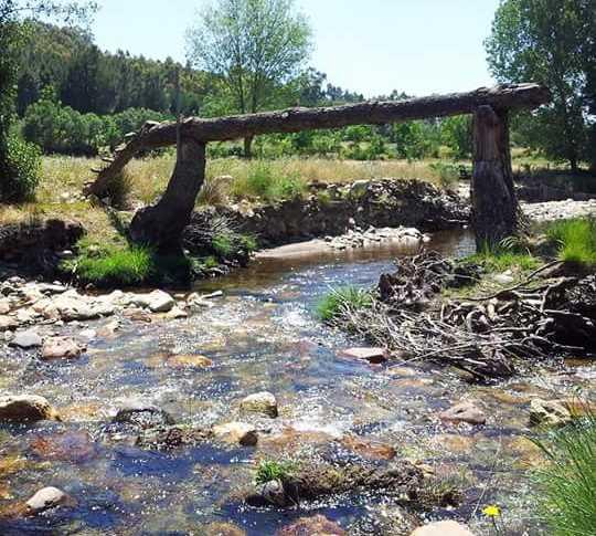 Rivière à Serradilla del Llano