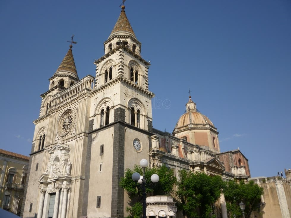 Cathedral in Acireale