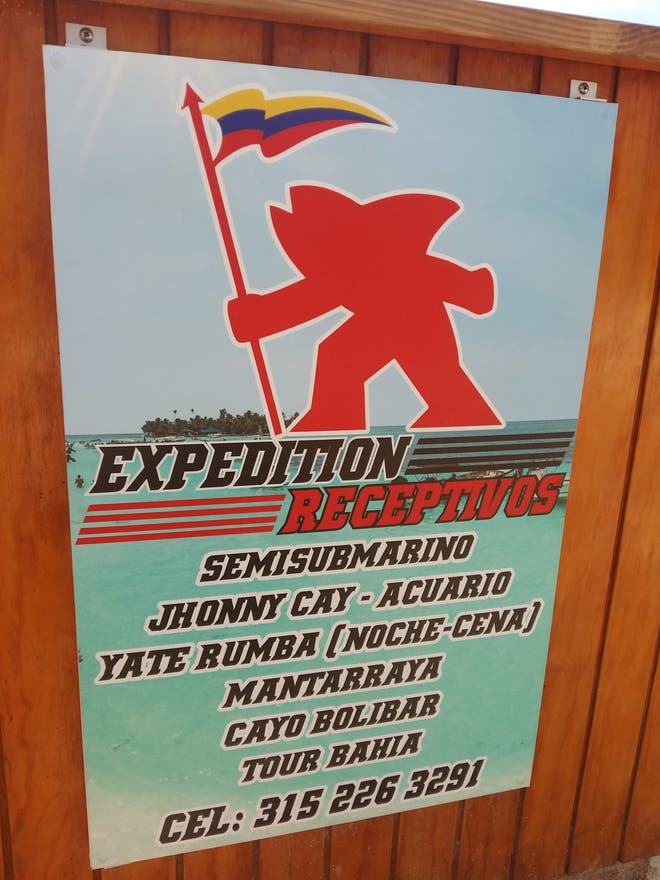 Señal en Expedition Receptivos