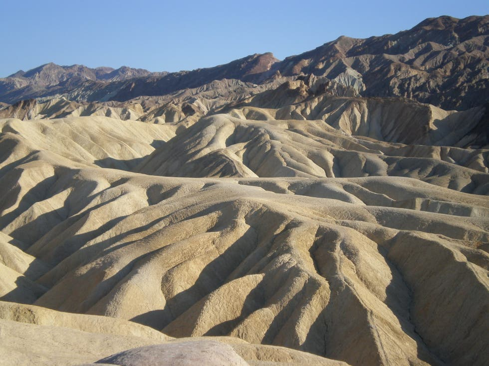Sand in Furnace Creek