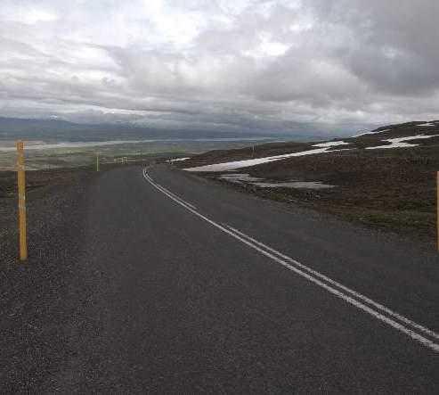 Carretera en Carretera de Fjardarheidi