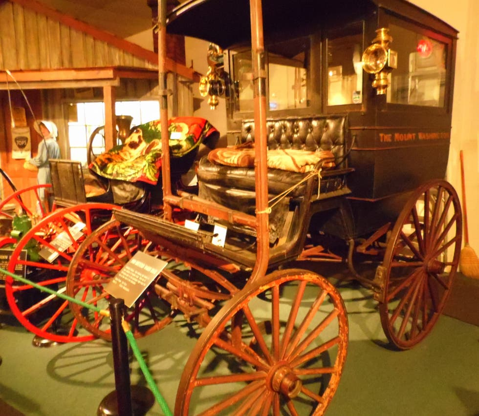 Diligencia en The Car and Carriage Caravan Museum