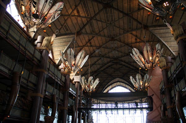 Techo en Animal Kingdom Lodge