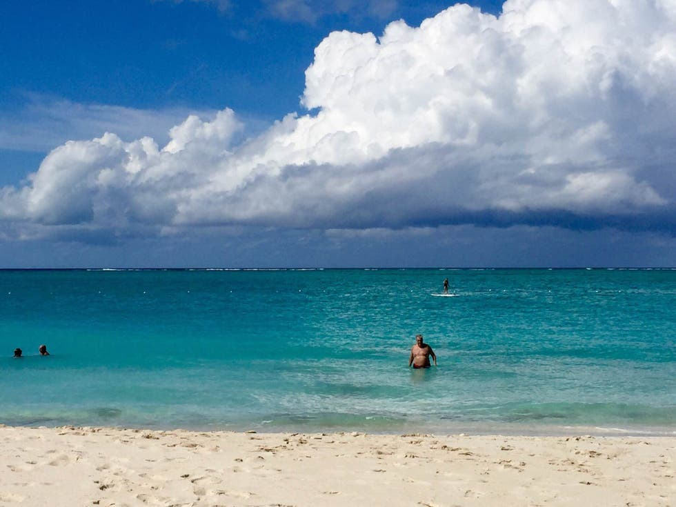 Playa en Hotel The Palms Turks and Caicos