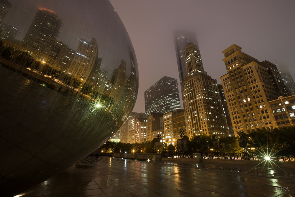 River in The Bean