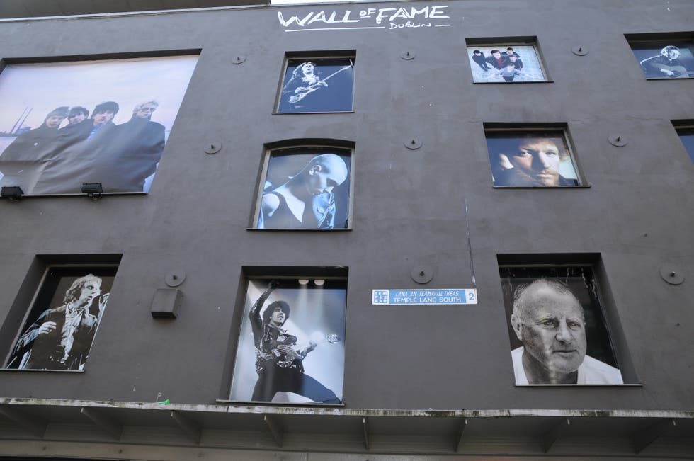 Arquitectura en Wall of Fame