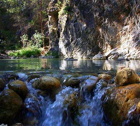 Agua en Nerja