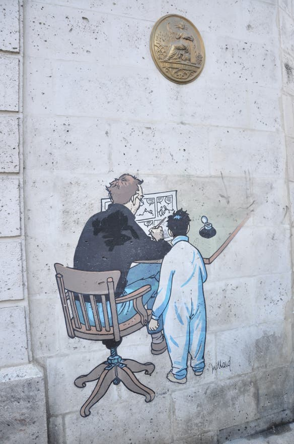 illustration in Angoulême
