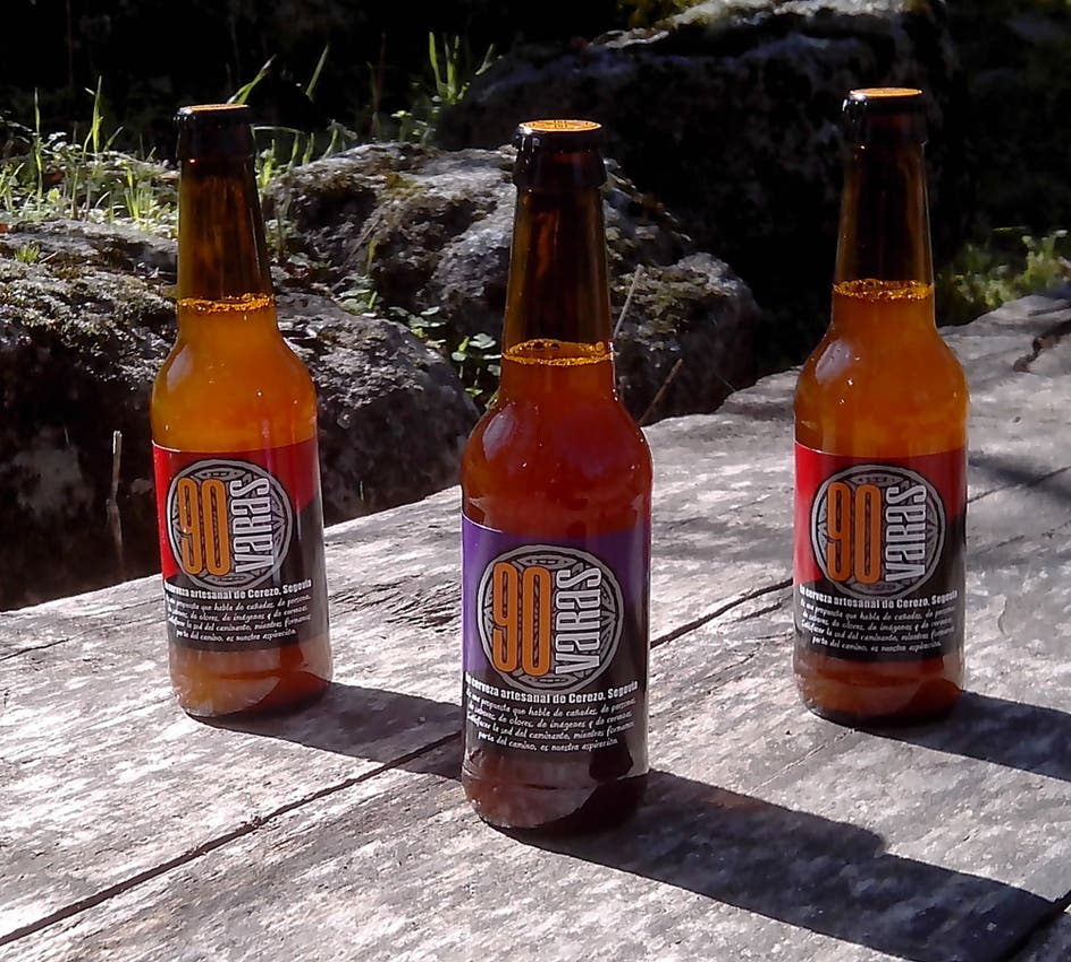 Cerveja em Cerezo de Abajo