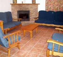 Fotos de sala en casa rural t o de la pipa hospeder a for Mueble pipas