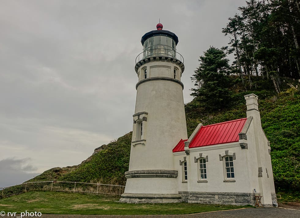 Lighthouse in Newport