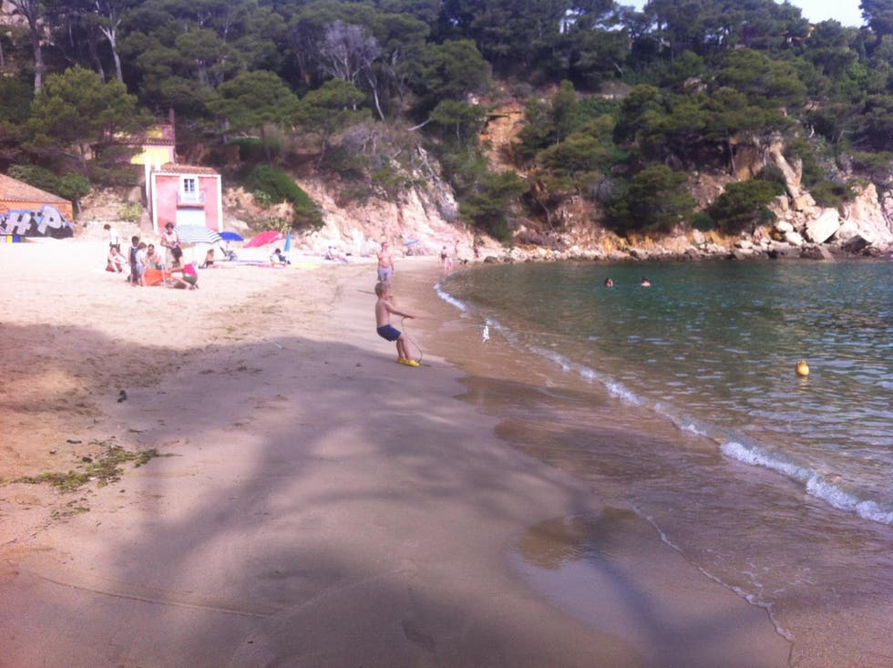 Beach in Aiguablava