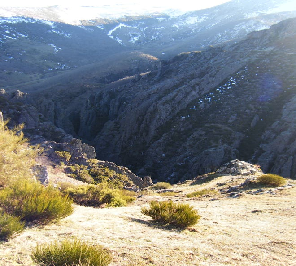 Montaña en Valdorria