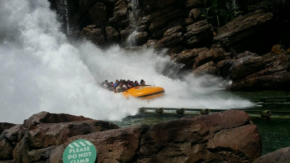Kayak en Islands of Adventure