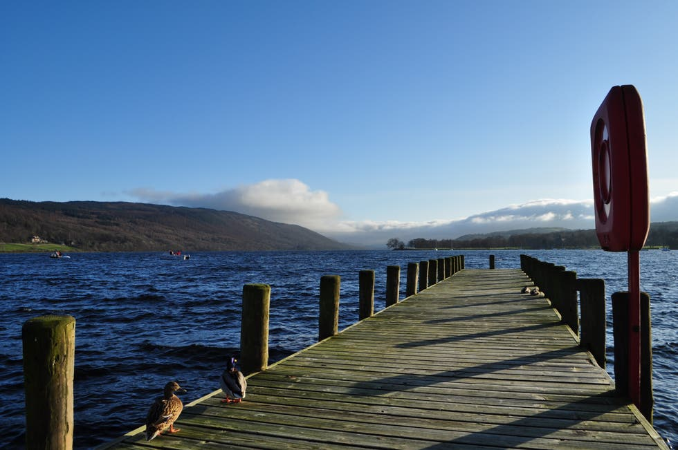 Orilla en Lago Coniston
