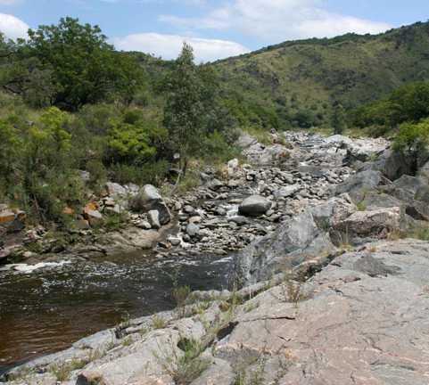 Río en Alta Gracia