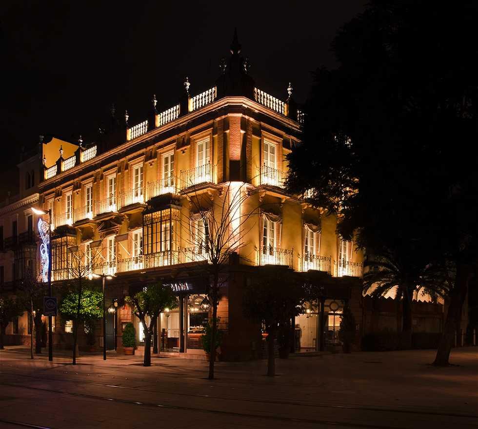 Noche en Restaurante Oriza