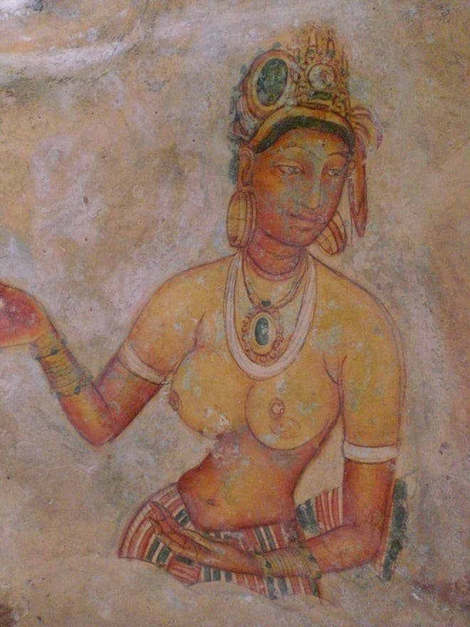 Art in Sigiriya