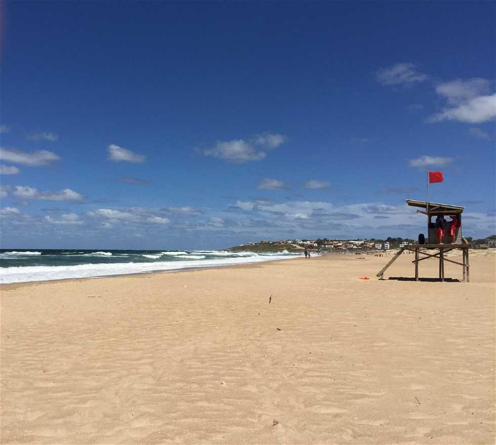 Mar en Punta Rubia