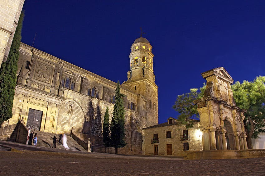 Cathedral in Baeza