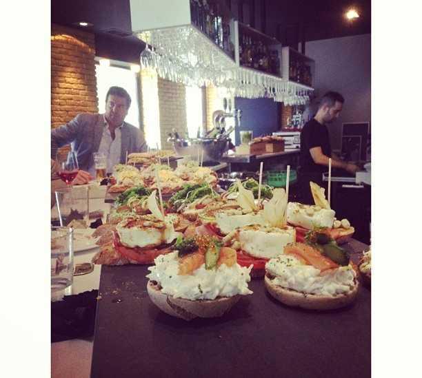 Banquete en Bitoque de Albia