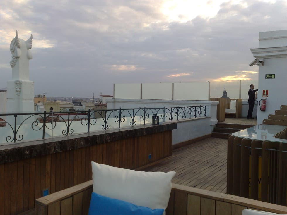 Apartamento en The Roof – Hotel ME Madrid