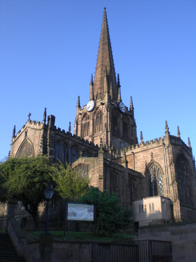 Cathedral in Rotherham