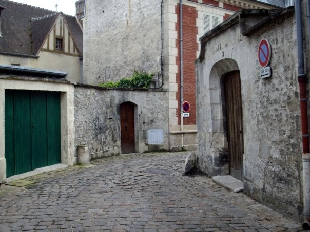 Town in Senlis