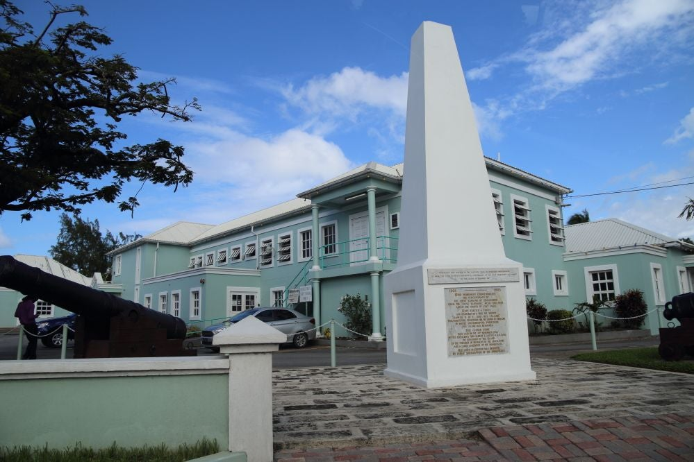 Edificio en Holetown