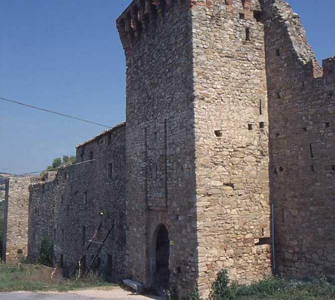 Pared en Castello di San Gregorio