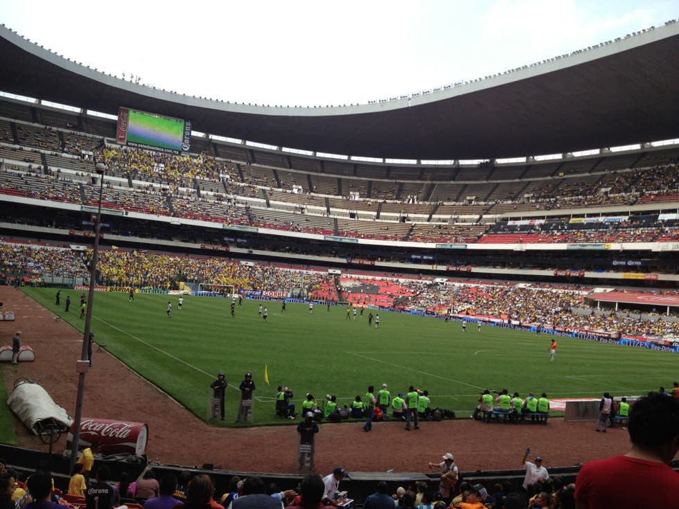 Estadio de fútbol en Estadio Azteca