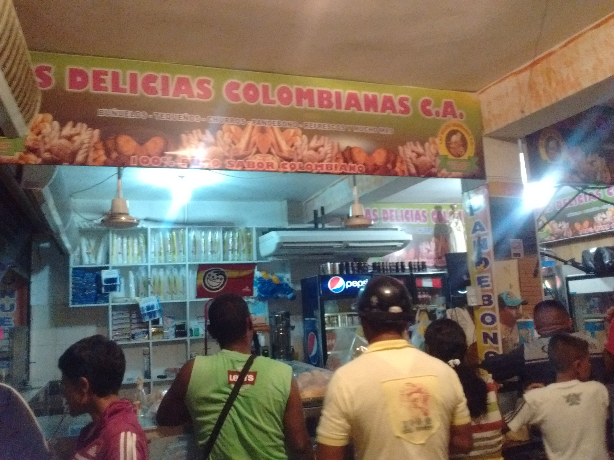 Food in Las Delicias Colombianas
