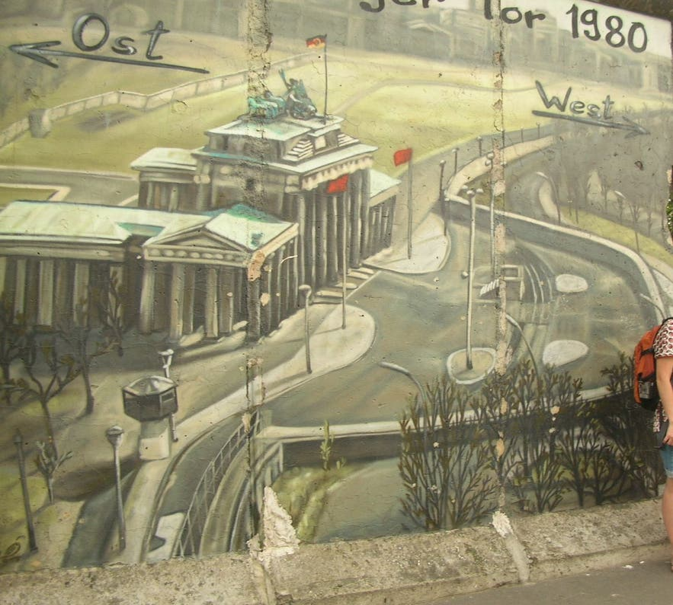 Transporte en Graffitis en Berlín