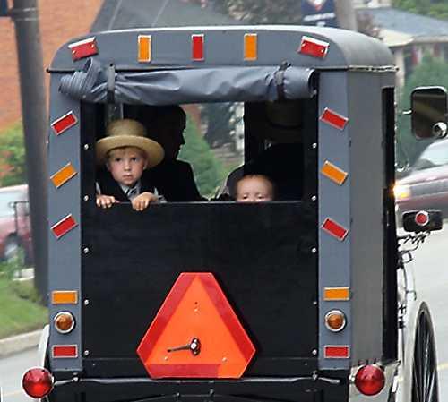Vehículo en Granja y Casa Museo Amish