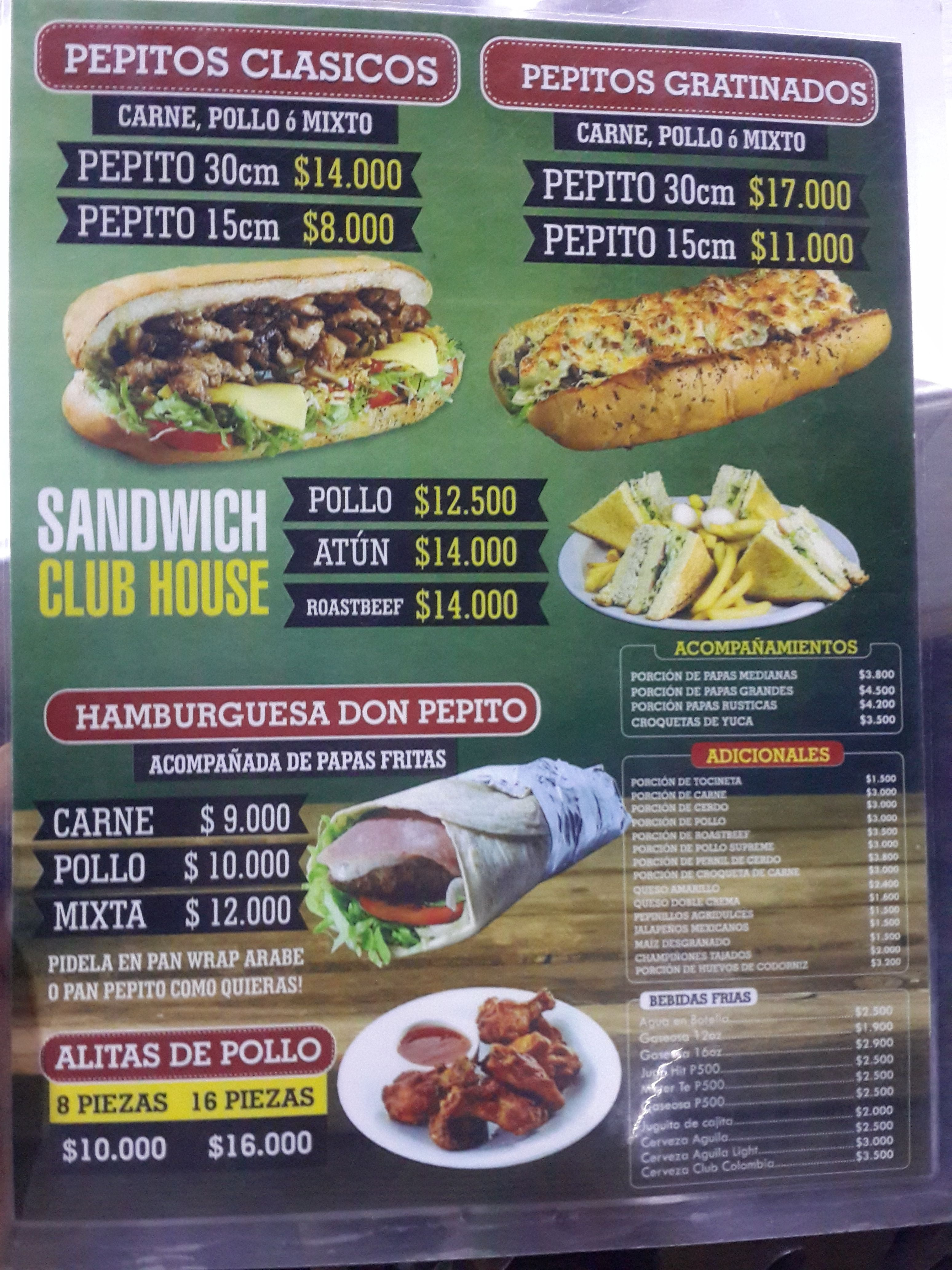 Dish in Don Pepito Grilled Subs