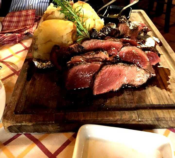 Carne en TerrAntica Ristorante Braceria